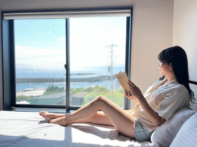 お部屋で読書