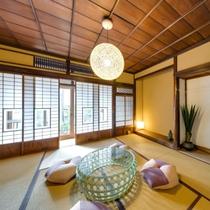 【YATA101】1階にあるのは歴史的な意匠を残した和室