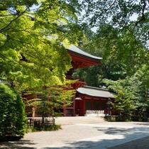 香取神宮の楼門は日本三大神宮、下総国一宮と称されています