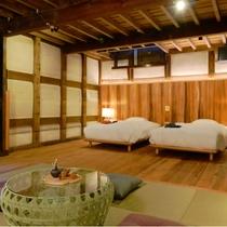 【SEIGAKU棟301】ゆったりとした広い空間は、ご家族での滞在にもおすすめです