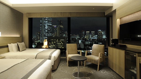 <高層階夜景ビュー>禁煙コンフォートビューツイン/30平米