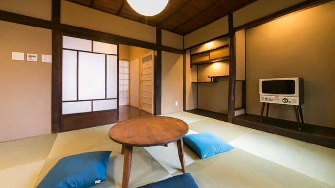 【京丹波高原豚の夏のはりはり鍋プラン】朝食は京都名物の湯葉を〜愛犬と一緒に町屋に泊まる〇1泊2食付