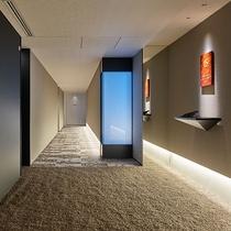 エレベーターホール(客室階)