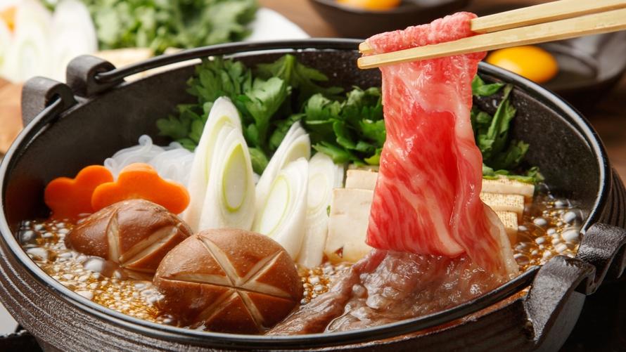 *【すき焼き一例】刺しが入った柔らかな肉質とまろやかな風味が絶品!