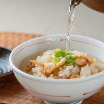 朝食ブッフェ(鯛茶漬け)