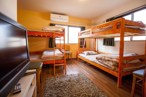 4ベッドプライベートルーム
