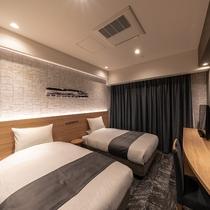 スタンダードツイン ―軟石デザイン― ※客室デザインはお選び頂けません。当日までのお楽しみ!