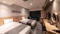 スーペリアツイン【軟石デザイン】 ※客室デザインはお選びいただけません。当日までのお楽しみ!