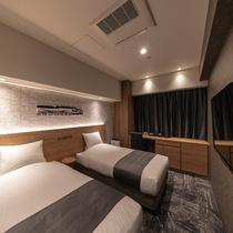 モデレートツイン ―軟石デザイン― ※客室デザインはお選び頂けません。当日までのお楽しみ!