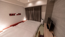 TATAMIツイン【禅デザイン】3名利用 ※非常にコンパクトなお部屋となります
