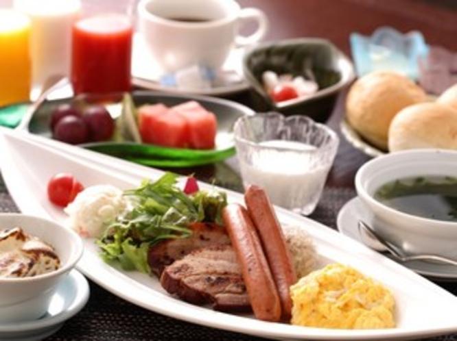天使の梯子朝食(洋コース)