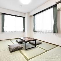 【コンドミニアム】お部屋は、和室がございます。グループでの旅行に。