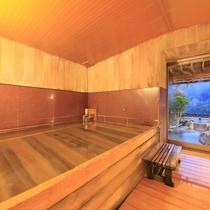 大浴場(檜風呂)