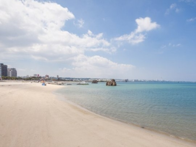アラハビーチ(ARAHA BEACH)徒歩10分、海外リゾートの雰囲気です