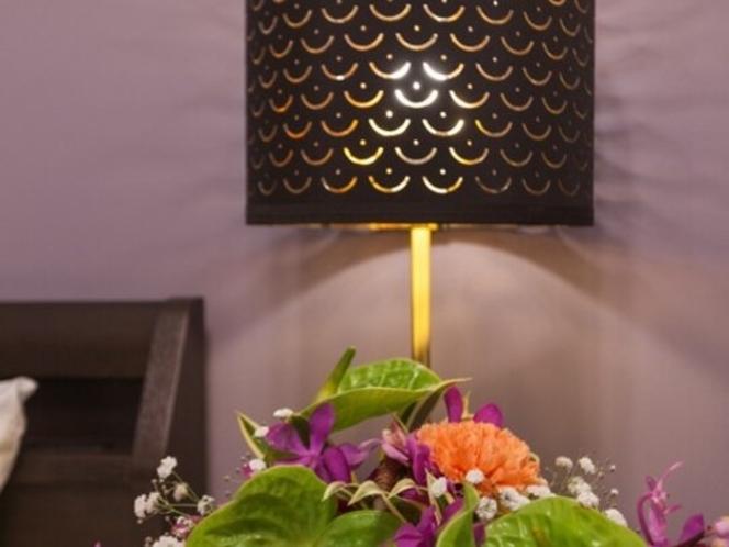 ラージツインルーム(お花はイメージです)