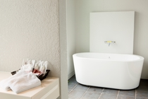201号室デラックスツイン浴室1