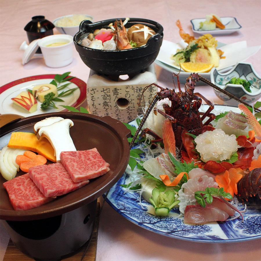 三重ブランド!伊勢海老&松阪牛を味わう!