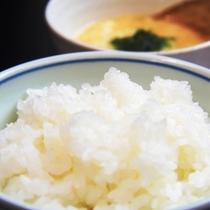 【朝食】自家製米のごはん