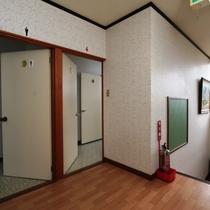 【館内】共用洗面所、トイレ
