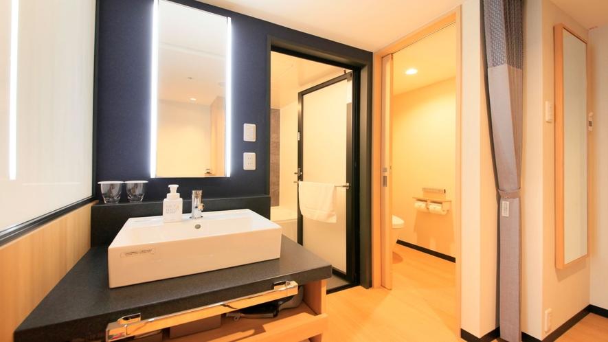 洗面台・浴室・トイレがそれぞれ独立しております。