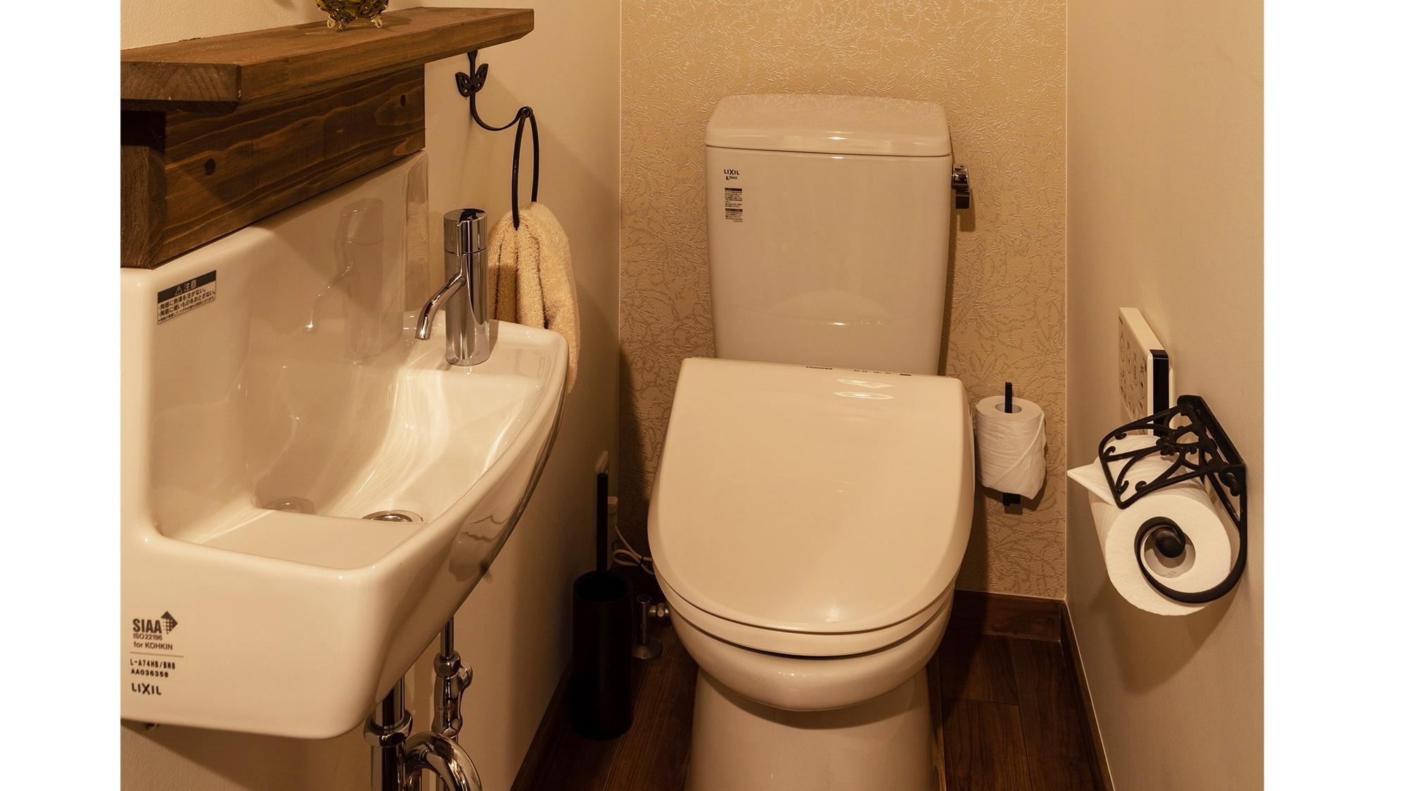 ・当施設は2階にもお手洗いがあり、計2か所ご利用可能