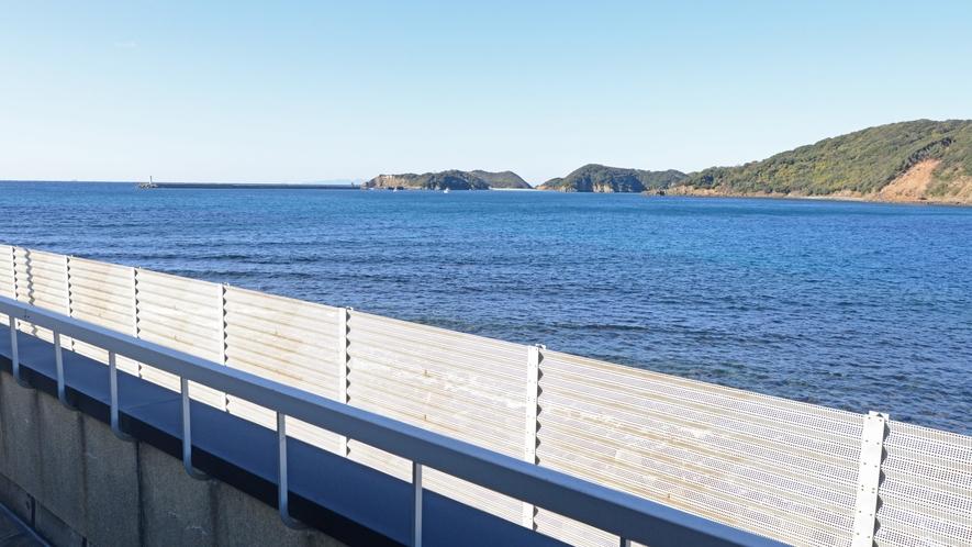 *【眺望一例】海側のお部屋からの風景です。いつまでも眺めていられます。