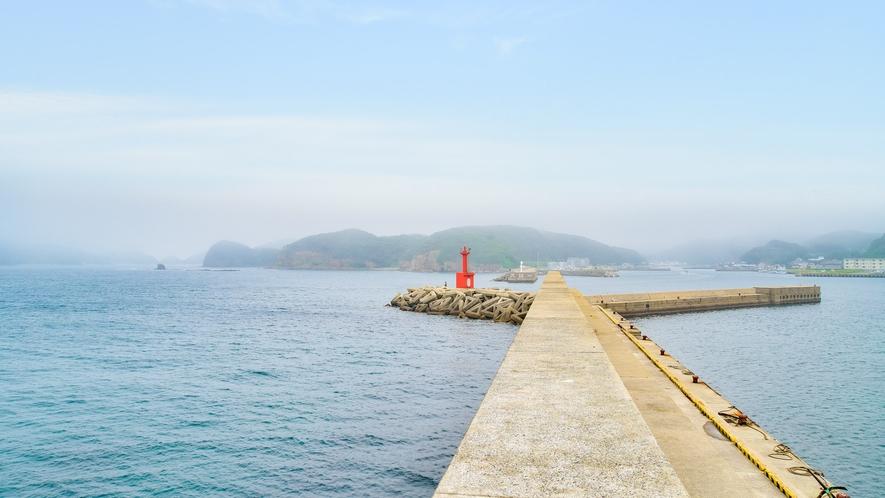 *【磯釣り場】船を眺めながらの磯釣りもお楽しみいただけます