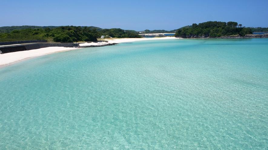 *【大浜海水浴場】当館から車で約35分。遠浅のビーチで小さなお子さまでも安心して遊べます♪