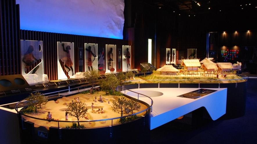 *【一支国博物館】当館から車で約30分。魏志倭人伝に記載された、一支国の歴史を展示した博物館!