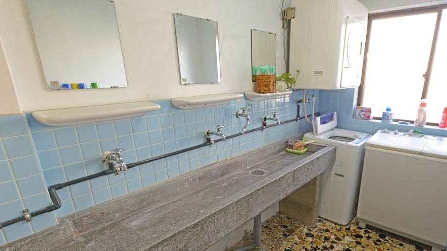 *【洗面所】共同の洗面所です。ご自由にお使い下さい。