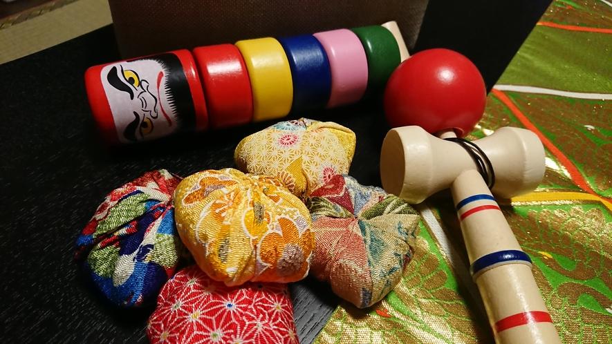 日本の昔懐かしおもちゃ