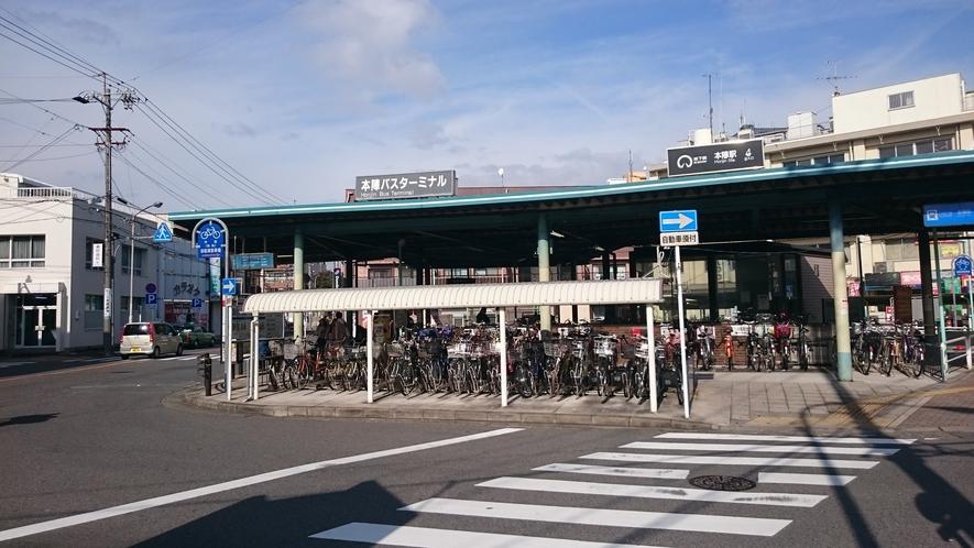 最寄りの地下鉄東山線本陣駅