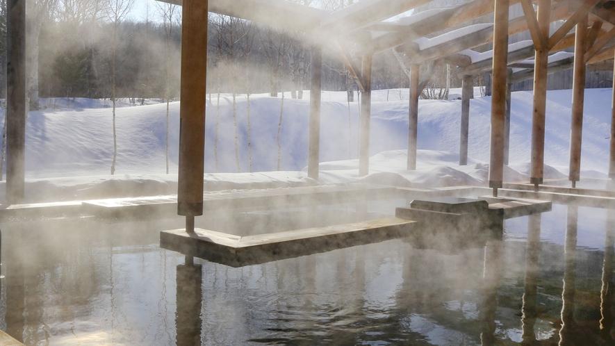 白樺の湯 冬
