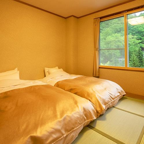 ■和室18畳■朝起きてカーテンを開けると、大自然が目の前に広がります