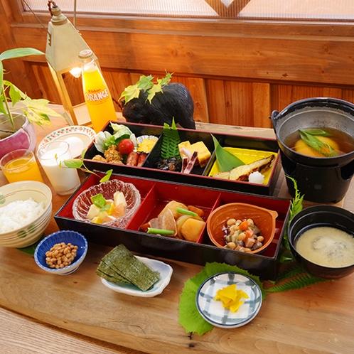 ■朝食イメージ■北海道ならではの朝をお楽しみいただける和食御膳をご用意いたします