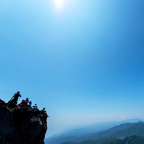 ■知床の自然■羅臼岳登山