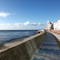 宮城海岸!!
