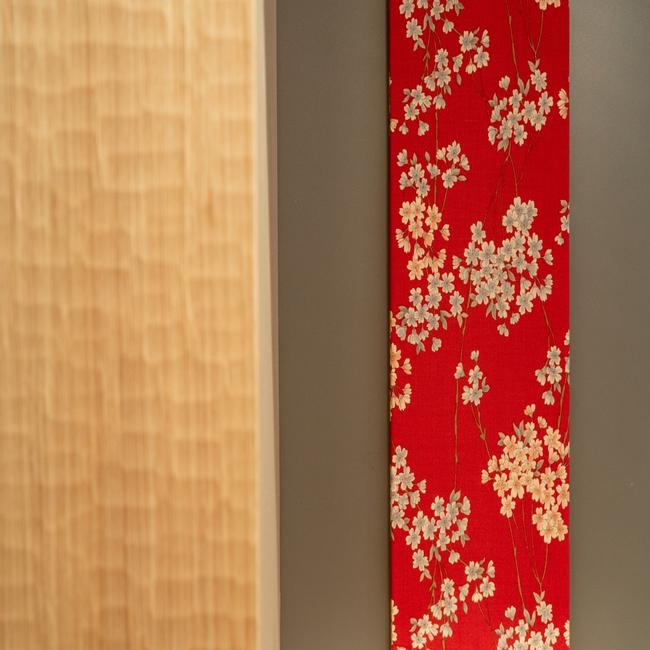 【居室内インテリア】随所にちりばめられた和の紋様/趣を一層引き立てます