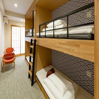 造作2段ベッドルーム(24平米〜)