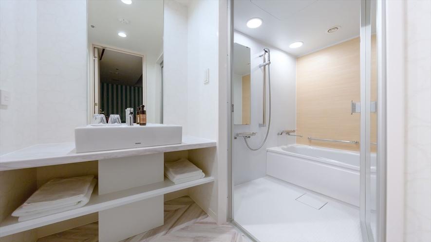 スーペリアダブル バスルーム