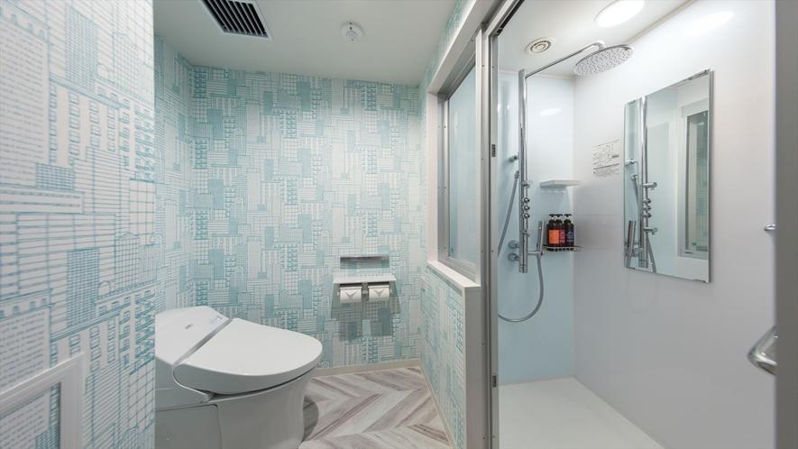 スタンダードシャワー シャワールーム