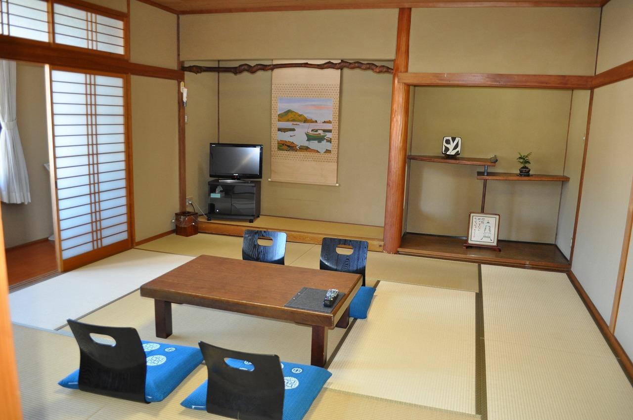 景観抜群!海側・ゆったり和室12畳【大島】2F (お部屋の様子)