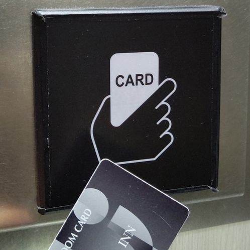 カードリーダー(エレベーター内設置)