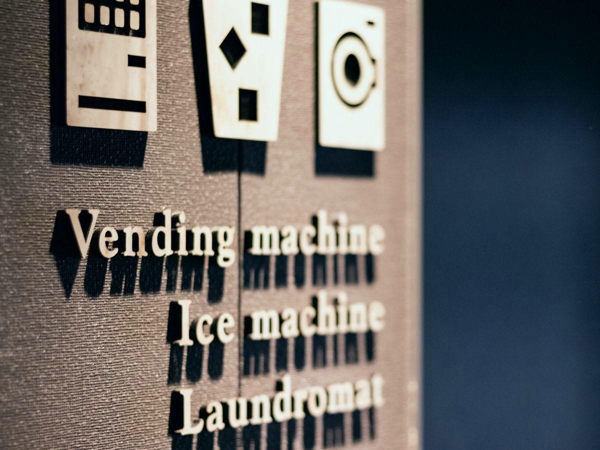 4F 自動販売機コーナー