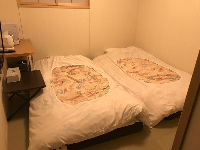 和室4.5畳の2名