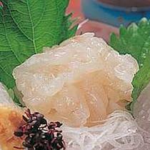 *富山湾だけで漁獲される富山名物「白エビ」をご賞味下さい