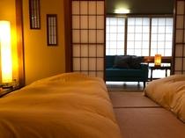 旧館の和室を可愛くアレンジしました♪