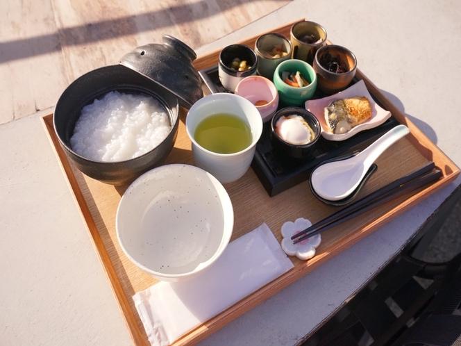 【朝食】小鉢は日替わりです