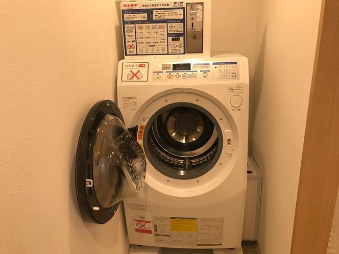 【コインランドリー】洗濯から乾燥まで可能です