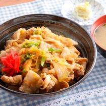 生姜焼き丼②